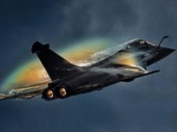 Rafale fighter jet: Photo: Dassault Aviation