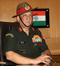 Army chief Gen Rawat leaves on visit to Maldives