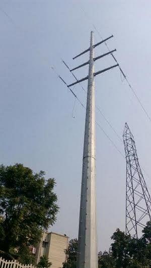 Delhi Metro installs India's highest monopole towers on Noida Corridor