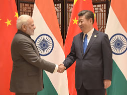 File photo of Prime Minister Narendra Modi meeting Chinese President Xi Jinping