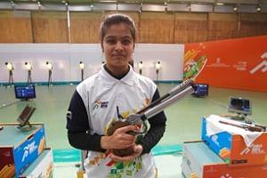 Shooting: Manu Bhaker, Anish sweep national titles
