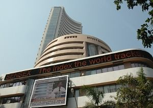 Equity indices fall, Sensex down around 200 points