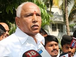File photo of B S Yeddyurappa(Photo: IANS)