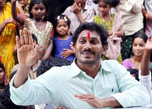 YSR Congress president Y.S. Jagan Mohan Reddy (File Photo: IANS)