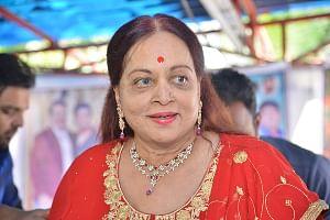 Vijaya Nirmala (File photo: IANS)