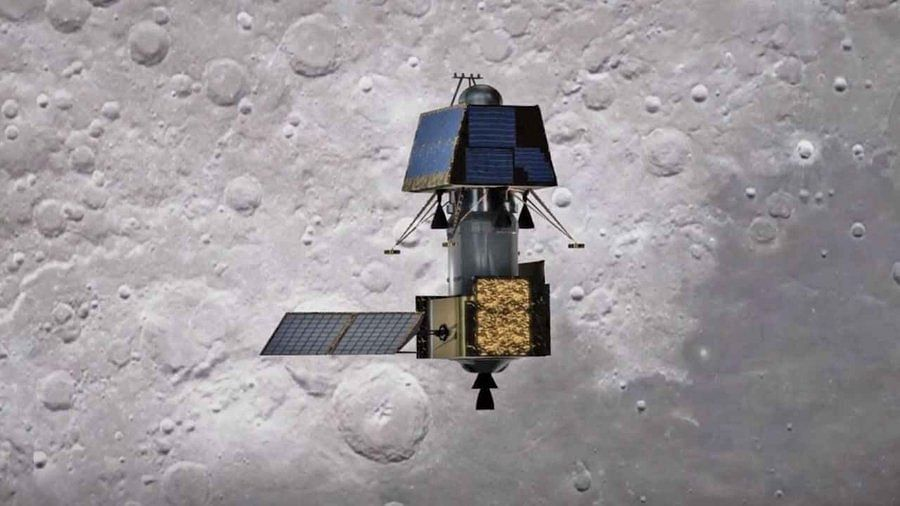 India's first moon lander Vikram (Photo: IANS)