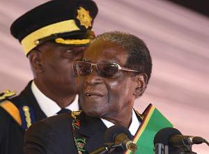 Robert Mugabe (Xinhua/IANS)