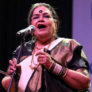 Usha Uthup (Photo: Sunil Majumdar/IANS)