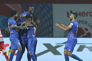 Football ISL: Mumbai pocket crucial win in Jamshedpur