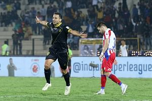Football ISL: Krishna rescues a point for ATK with late goal in Hyderabad