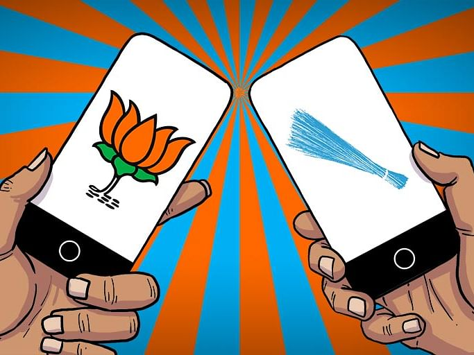 Delhi BJP's IT cell is trying its best to take on AAP. Is it working?