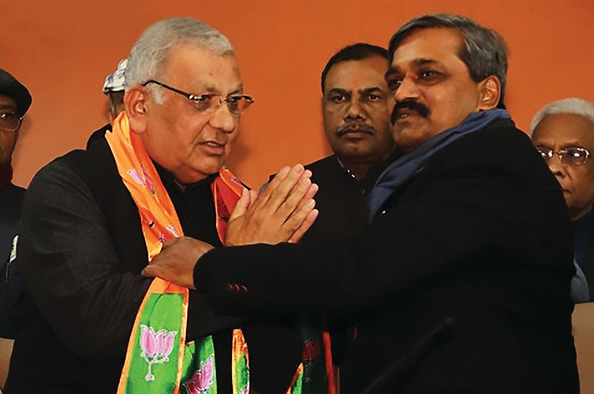BJP nominee from Shakur Basti, Suresh Chandra Vats