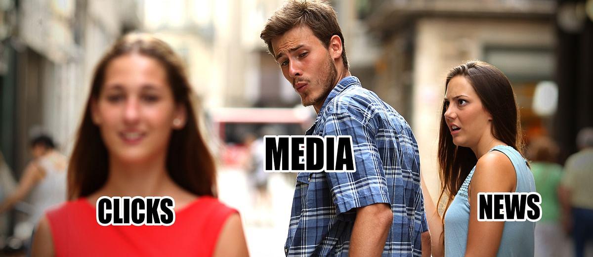 'भक्ति' की वजह से मीडिया लॉक डाउन की खबर देने से चूक गया