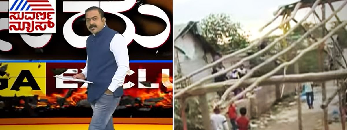 Kannada TV channel helped raze homes of 700 poor families, then gloated about it