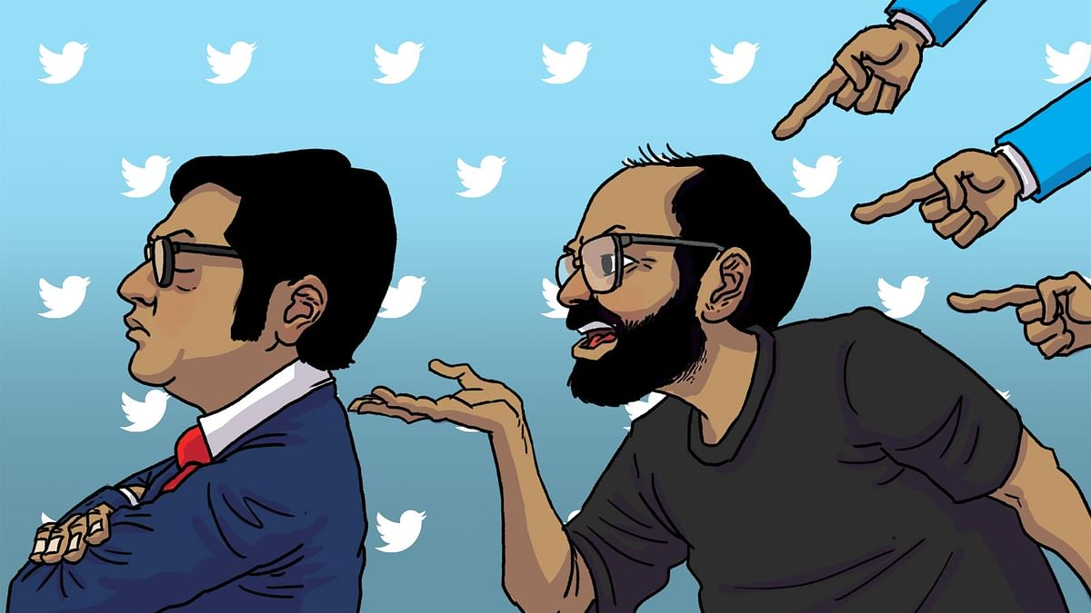 Kunal Kamra ambushing Arnab Goswami is what journalists have always done. Spare me the outrage