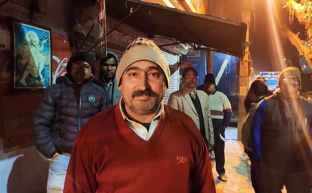 Jagpal Sharma, 52, attended Shah's rally in Babarpur.