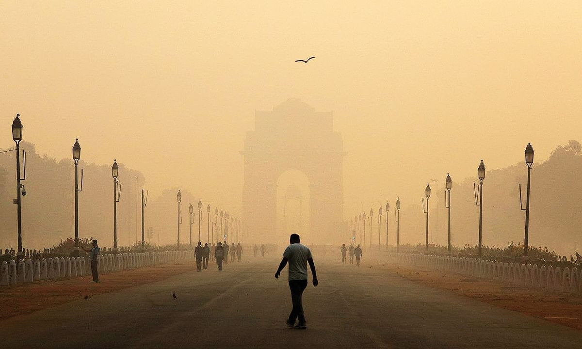 Which party has a plan to solve Delhi's pollution problem?