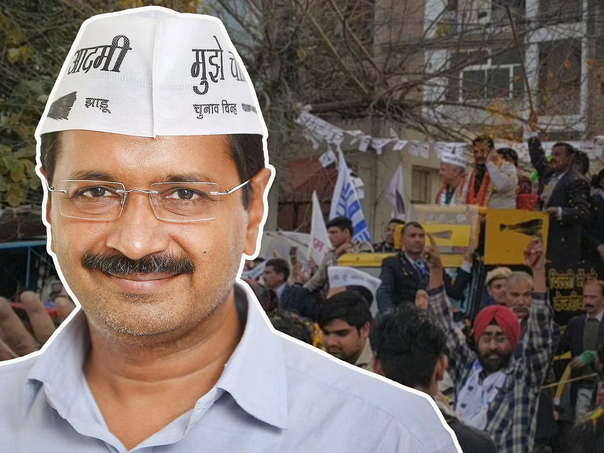 'BJP's nasty attacks shows its nervousness': On the road with Arvind Kejriwal
