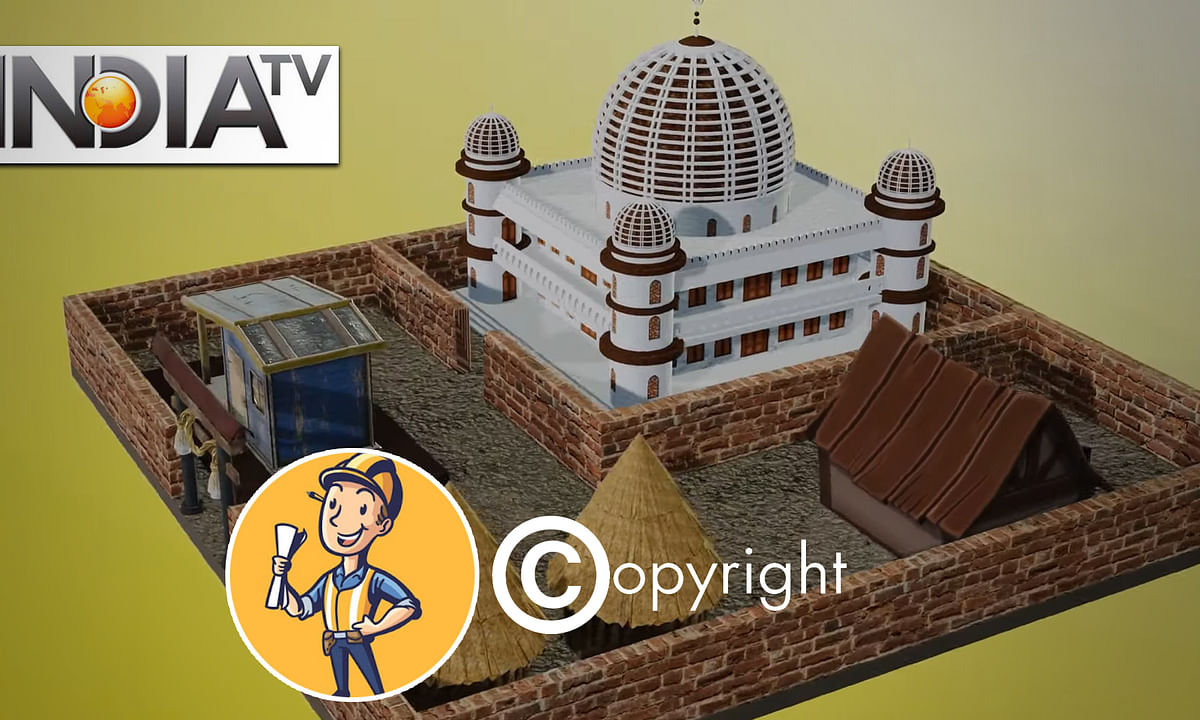Did India TV steal an animation artist's Ram Mandir video?