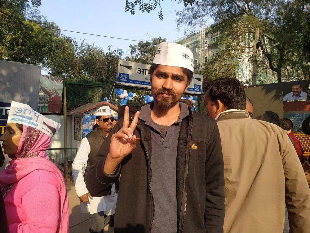 Amit Singh, a businessman from Dwarka.