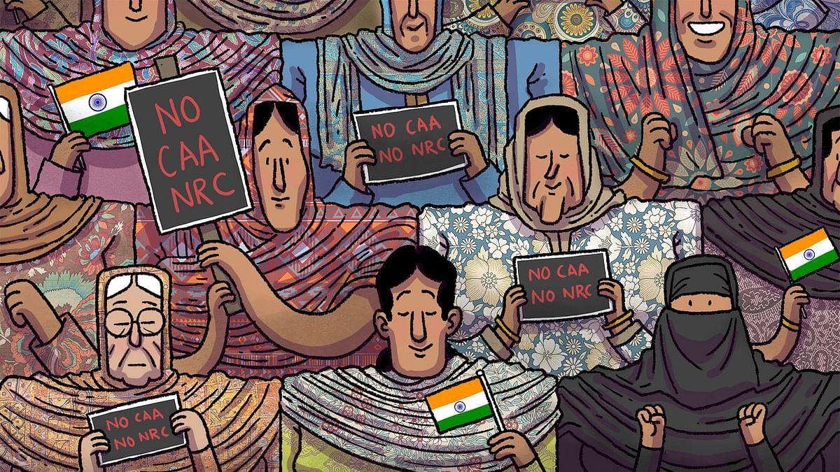 जंग के मैदान में नहीं, वतन के सजदे में हैं शाहीन बाग़ की औरतें