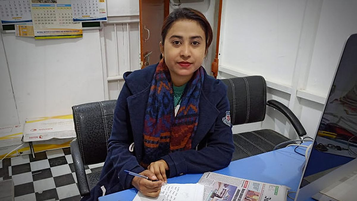 Babie Shirin wrote the article over which the chief minister sued the Imphal Free Press.