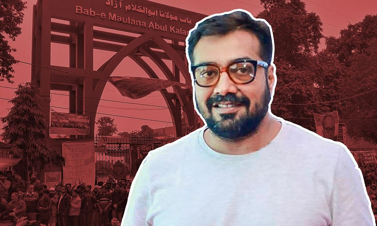 'We need to reclaim the Constitution': Anurag Kashyap at the citizenship law protest at Jamia