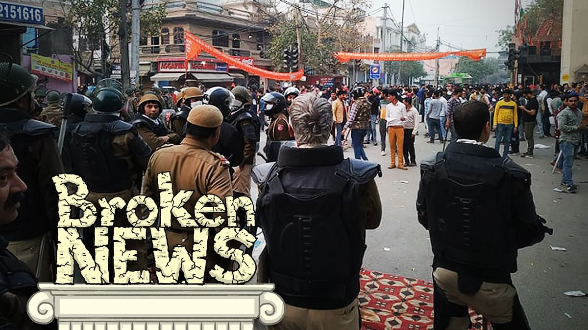 Why is India's media shying away from identifying targets of selective arson in Delhi?