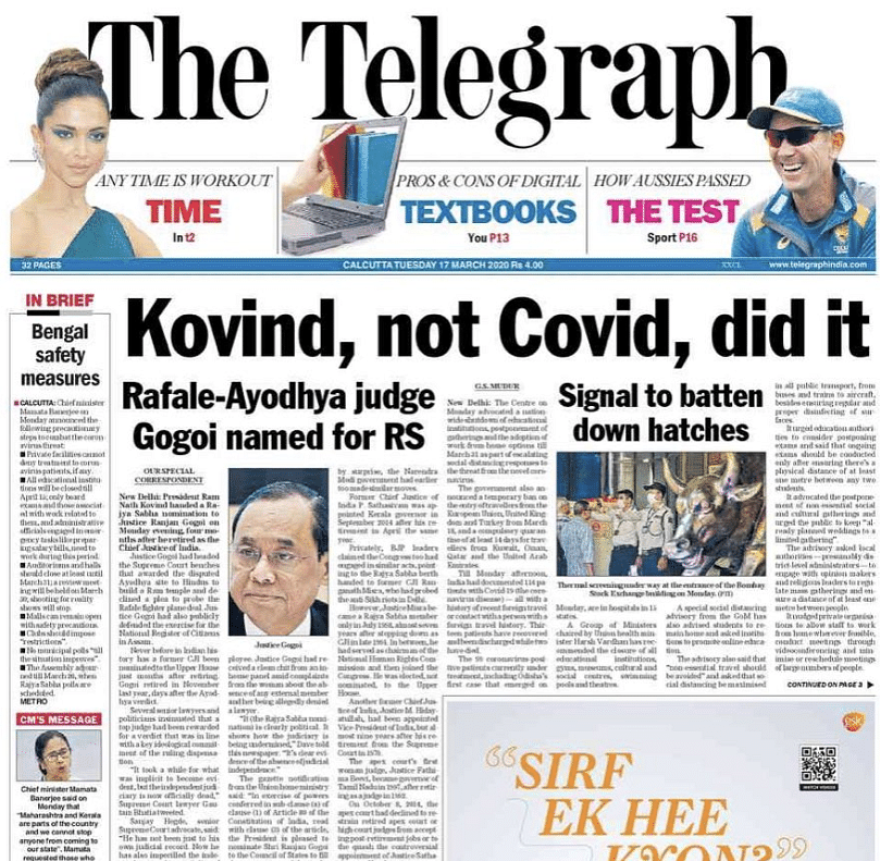 'Satirical comments ridiculing President uncalled for': Press Council sends notice to Telegraph for headline