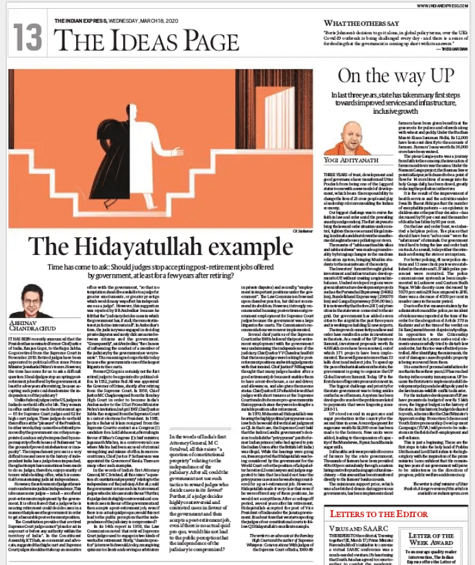 'First steps to take holy land of Ram, Krishna to highest glory': Indian Express, TOI, HT print articles by Adityanath
