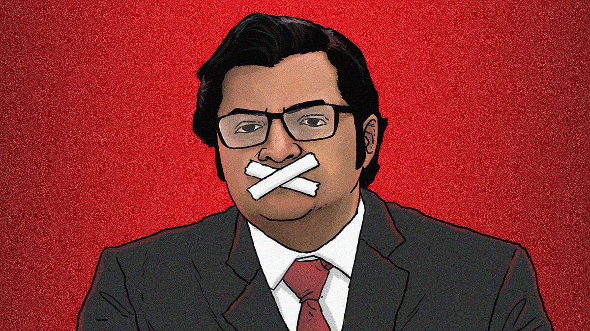 Why is Arnab Goswami no longer shouting about attacks on journalists in Delhi?