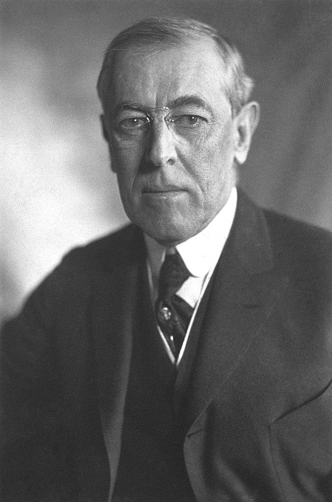 Woodrow Wilson, the 28th president of the United States of America. | Harris & Ewing/Library of Congress