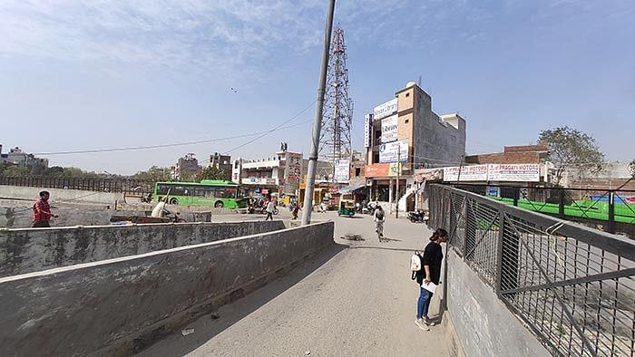 The Johripur-Bhagirathi Vihar puliya in North East Delhi.