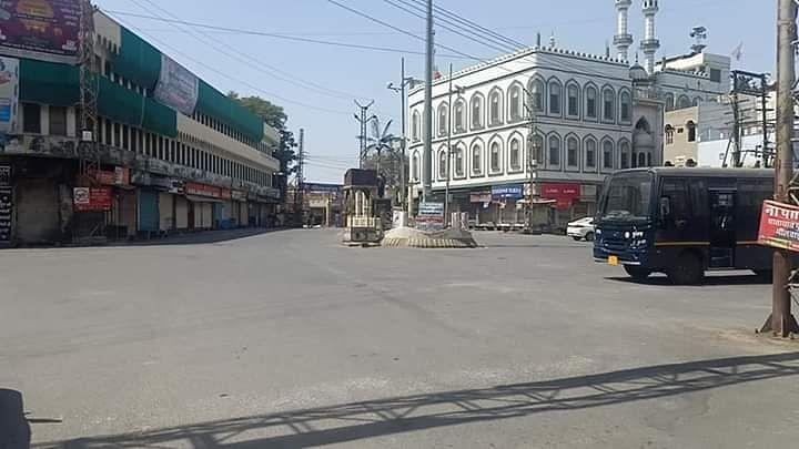 Bhilwara city on lockdown.