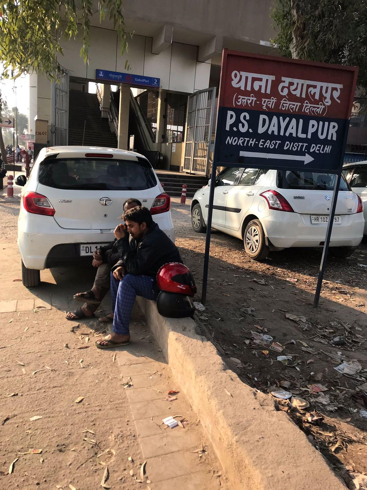 Dayalpur police station.