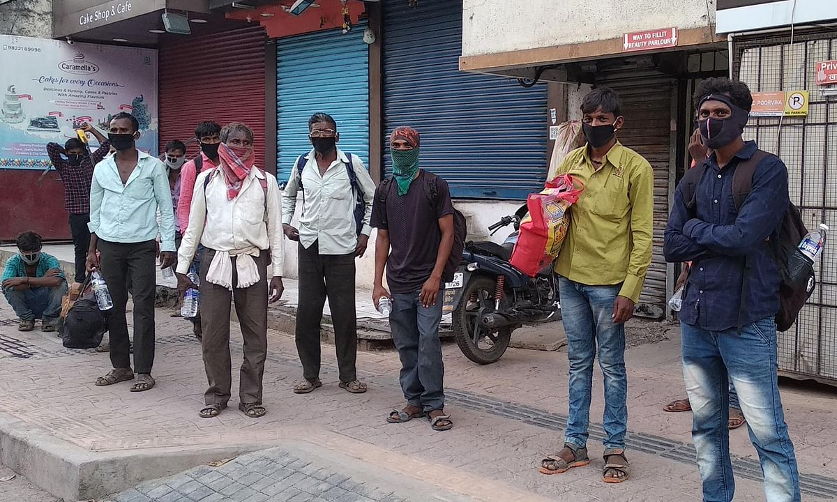 'If I die here now, no one will know': Pune's migrant workers are struggling to survive the lockdown