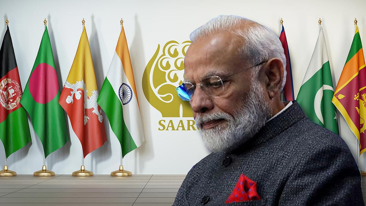No, India didn't suddenly rediscover SAARC. The latest outreach is in line with old policy