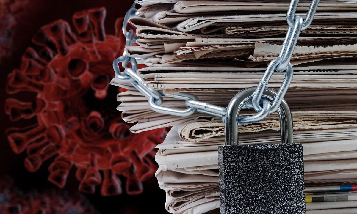 कोरोना की मार से लस्त-पस्त प्रिंट मीडिया