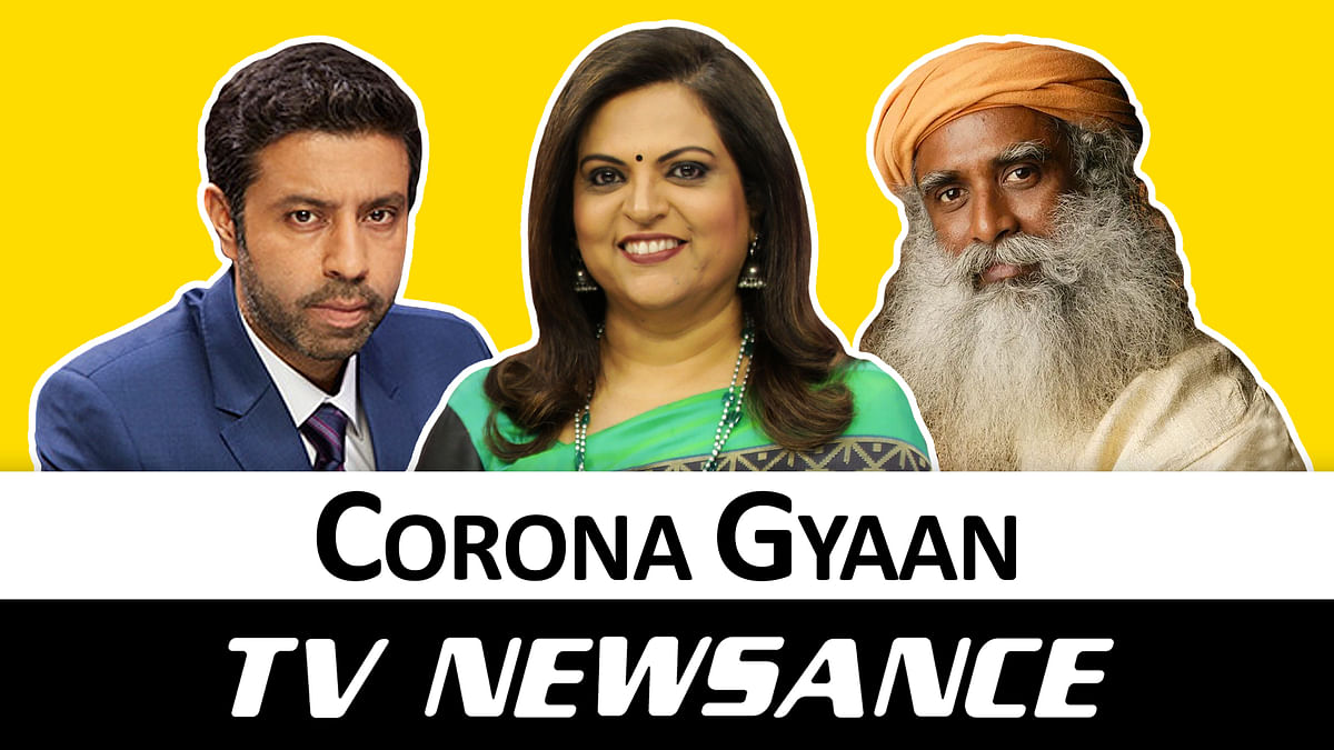 TV Newsance Episode 83: Sadhguru and Saif make it to Corona TV news