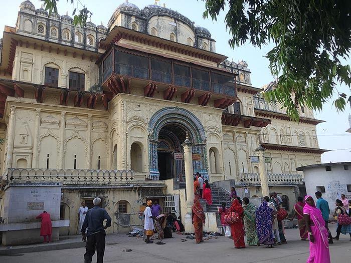 The Kanak Bhavan Temple in Ayodhya.