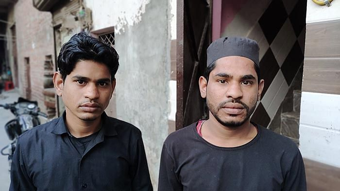 Aas's brothers, Mohammad Naazim and Mohammad Chand.