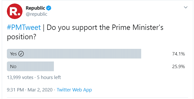 The nation wanted to know why Modiji was 'quitting' social media. But the nation got it spectacularly wrong