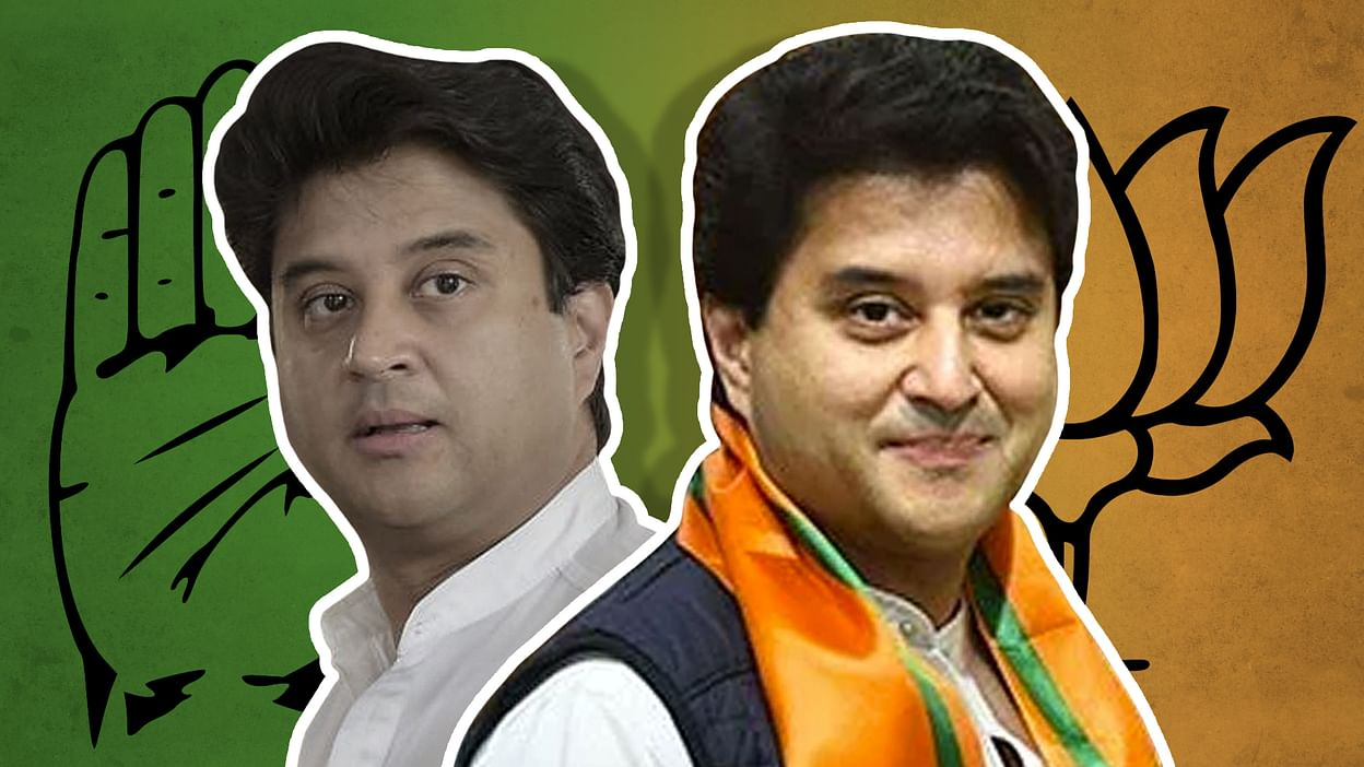 Jyotiraditya Scindia left the Congress for the BJP due to its ...