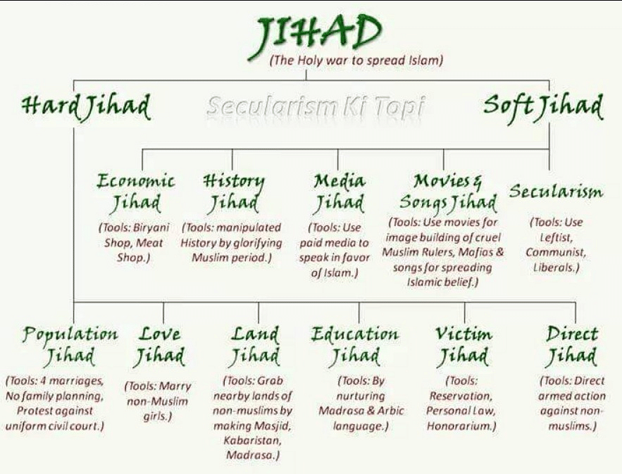 The 'jihad chart' Sudhir Chaudhary based his entire show on? It's plagiarised