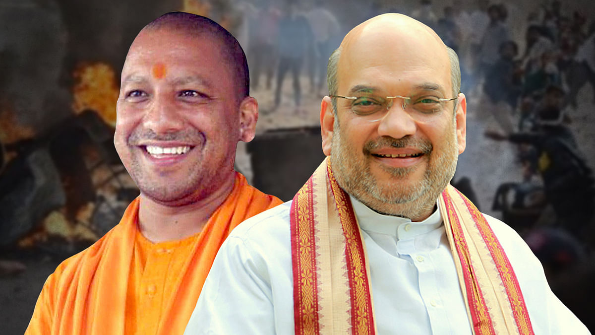 Why are Amit Shah and Adityanath not being blamed for the Delhi carnage?
