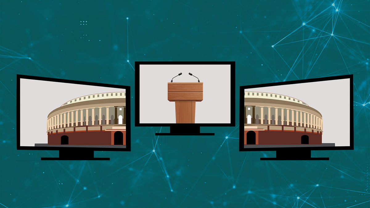 India is in a crisis. Why isn't the parliament assembling online?