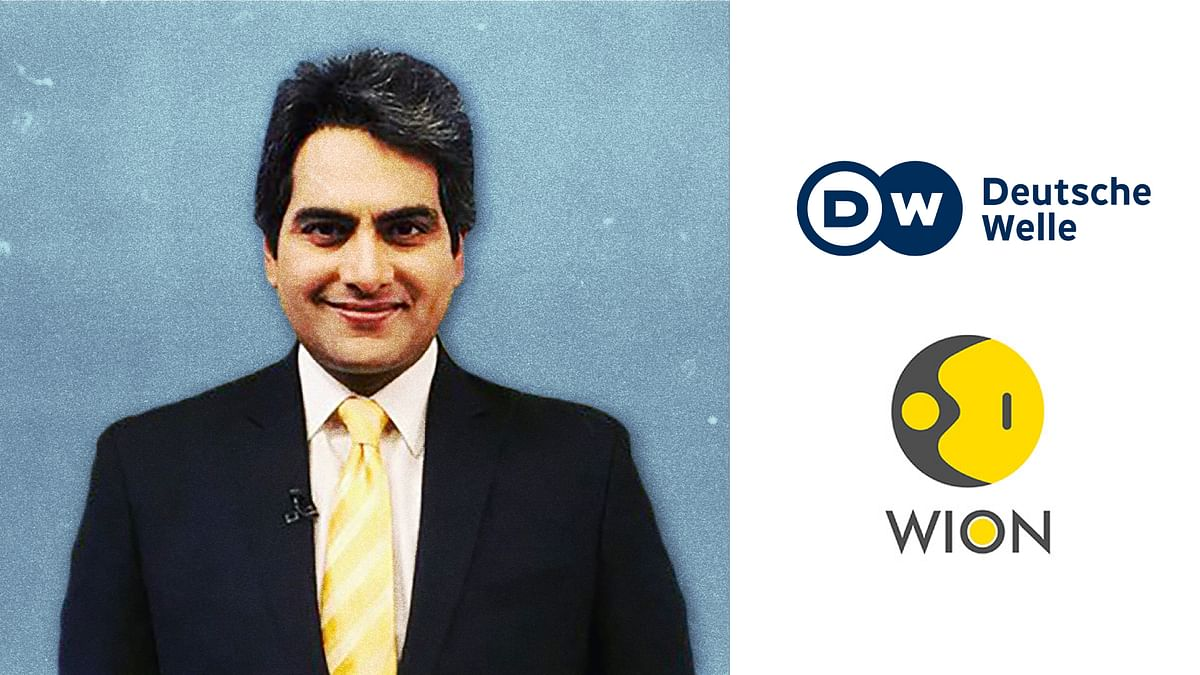 German broadcaster partners with Sudhir Chaudhary's WION News, the man who made a 'jihad chart'
