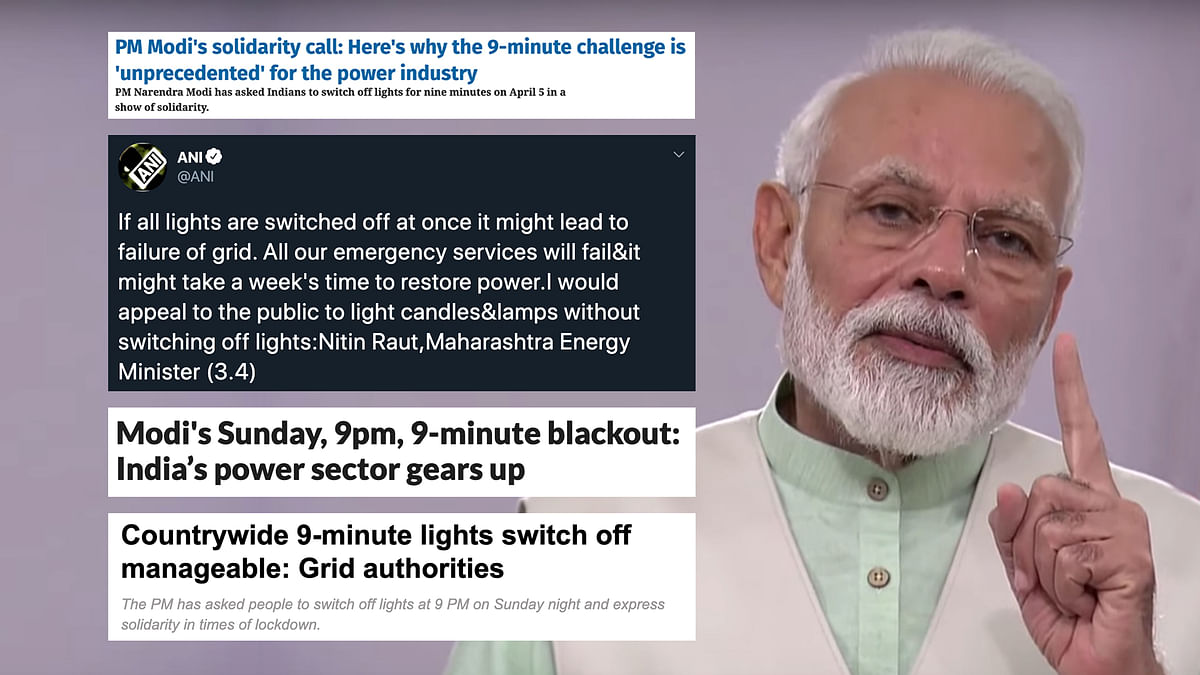 With power grid concerns, Prime Minister Modi's Sunday show hits a hurdle