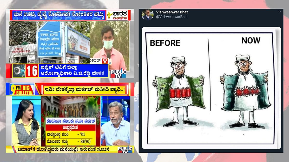 Kannada media paints the coronavirus crisis communal