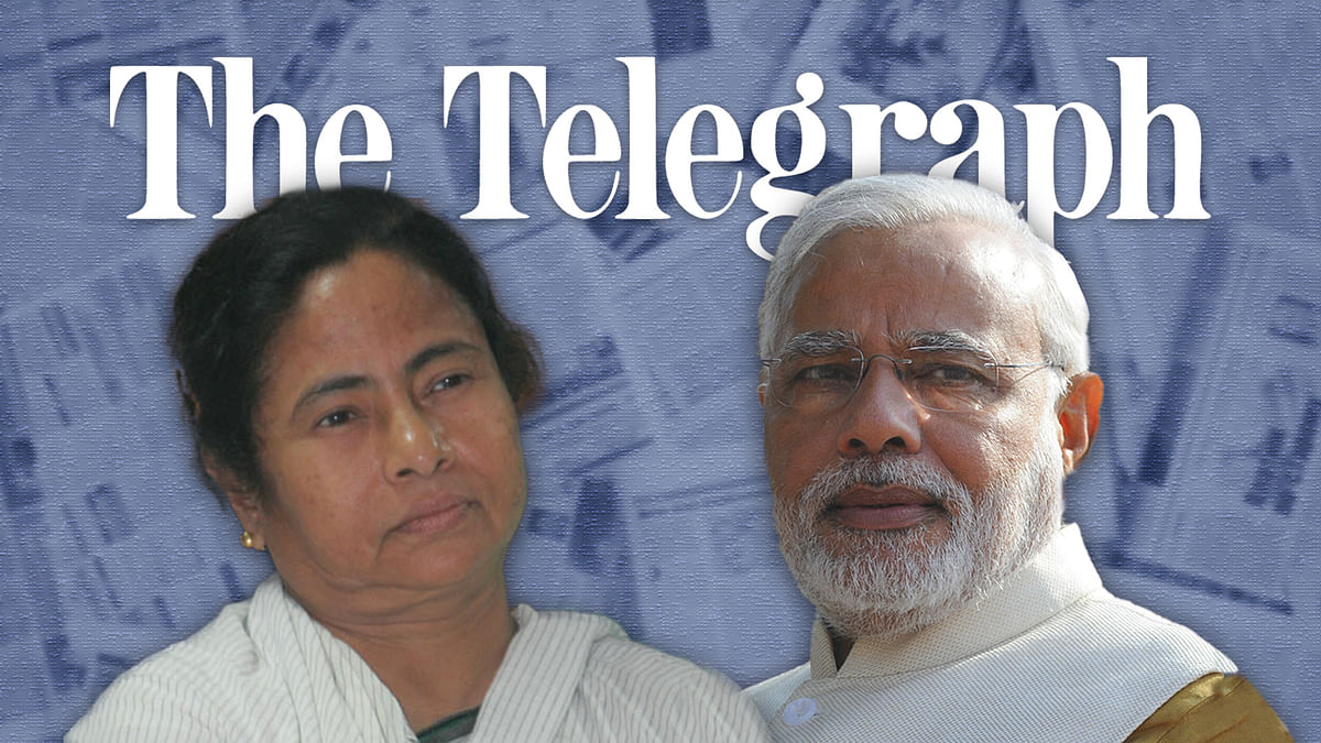 Tough on Modi, soft on Mamata: How Telegraph covered Covid responses by two governments